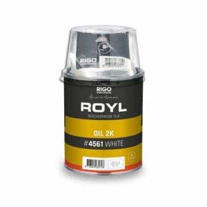 Royl Oil 2K White 1 liter #4561