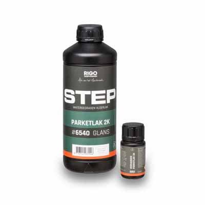 Step Parketlak 2K #6540 glans 1 liter