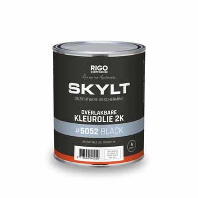 Skylt Overlakbare Kleurolie 2K Black #5052 1 liter